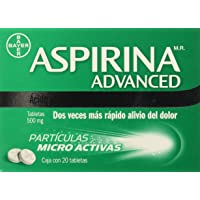 Aspirina Advanced Tabletas, 500 mg