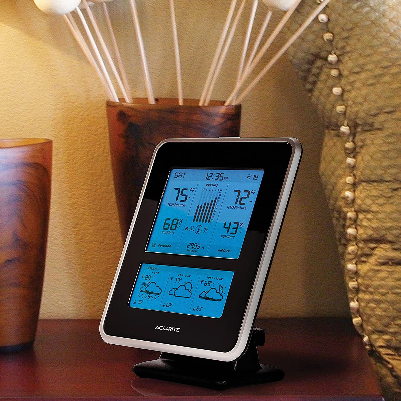 amazon com acurite 02010 digital weather center with temperature