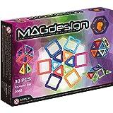 MAGdesign Explorer Set (30 PCS) Magnetic construction system for brain development