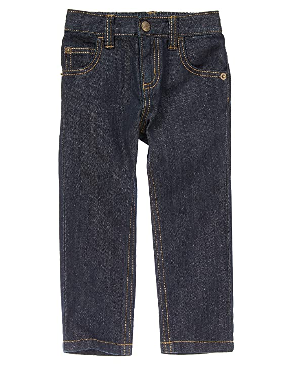Crazy 8 Baby-Boys' Toddler Dark Wash Rocker Fit Jeans