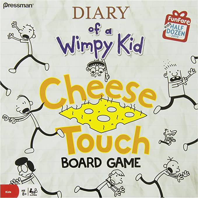 The Diary of a Wimpy Kid Cheese Board Game