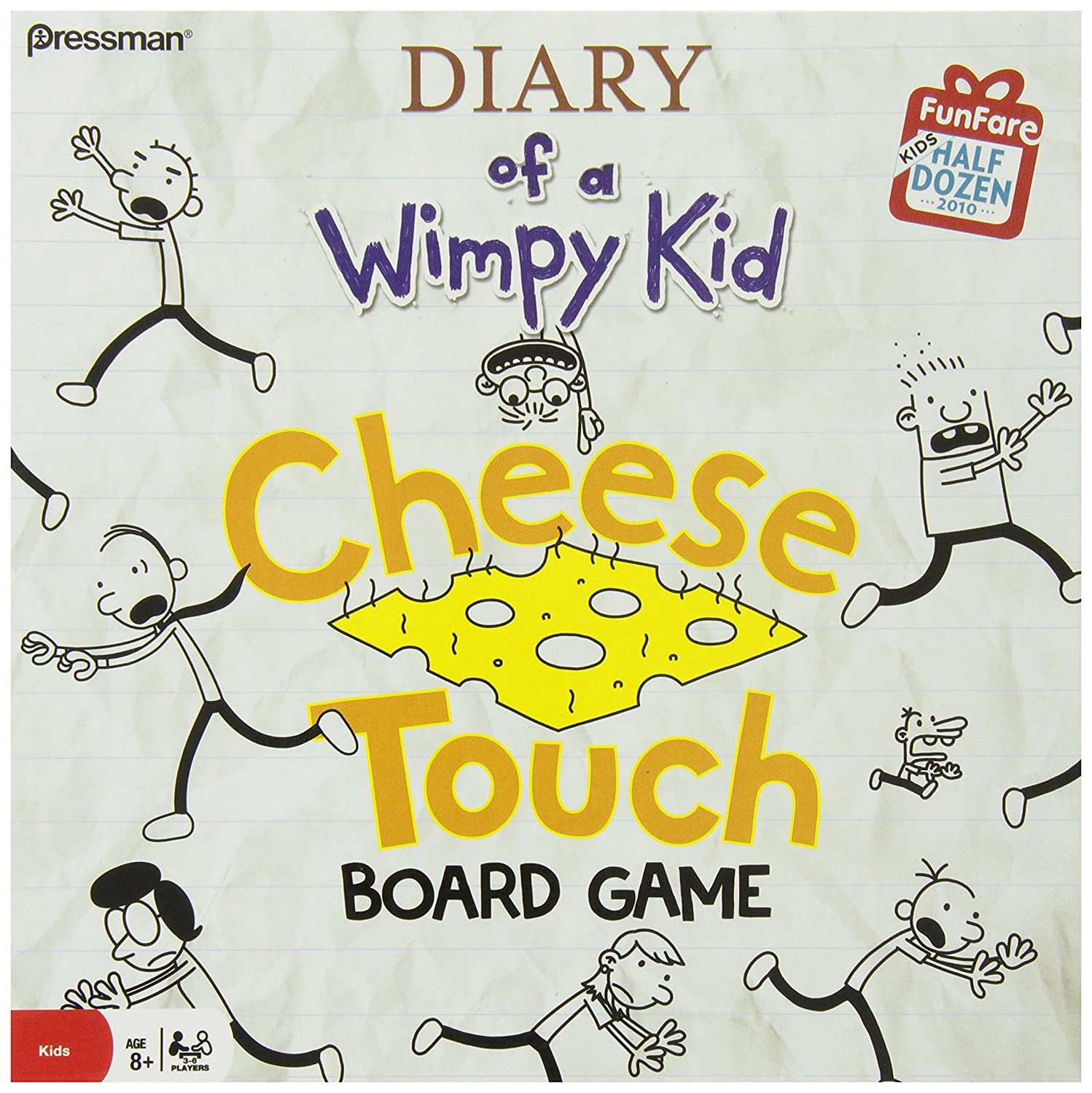Amazon diary of a wimpy kid the cheese touch game toys games solutioingenieria Choice Image