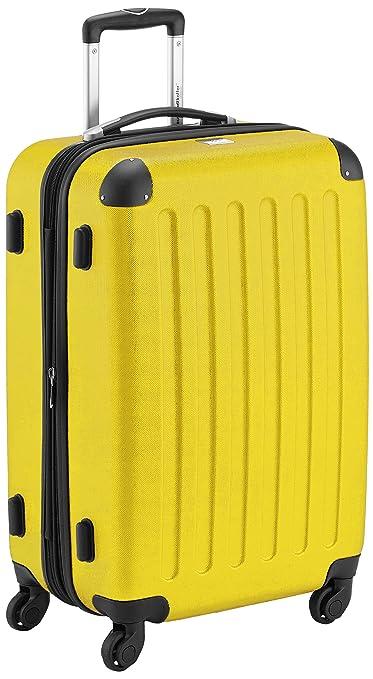 110 opinioni per Hauptstadtkoffer 42246366, Trolley da Viaggio, colore Giallo, 65 cm
