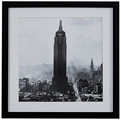 Amazon.com: Modern Black and White Photo of Empire State Building ...