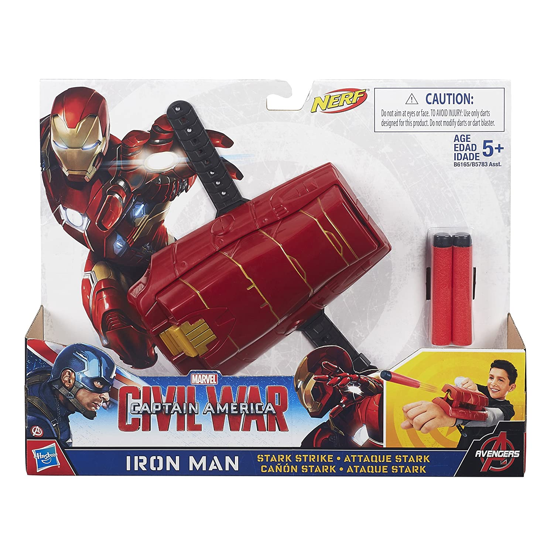 Amazon.com: Marvel Captain America: Civil War: Iron Man Stark Strike: Toys  & Games
