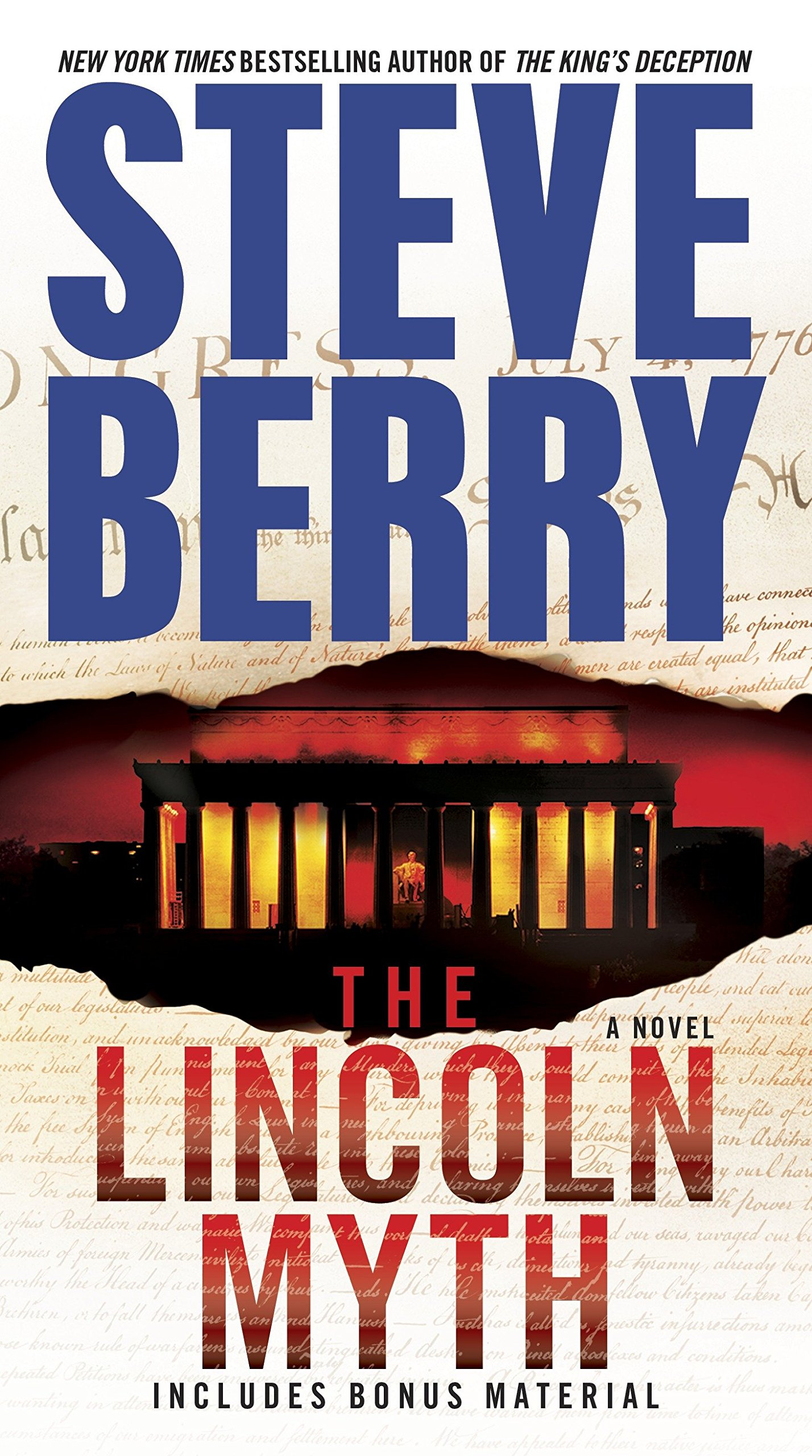Amazon.com: The Lincoln Myth: A Novel (Cotton Malone) (9780345526588): Steve  Berry: Books