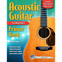 Acoustic Guitar Primer Book for Beginners - Deluxe Edition (Audio & Video Access) book cover