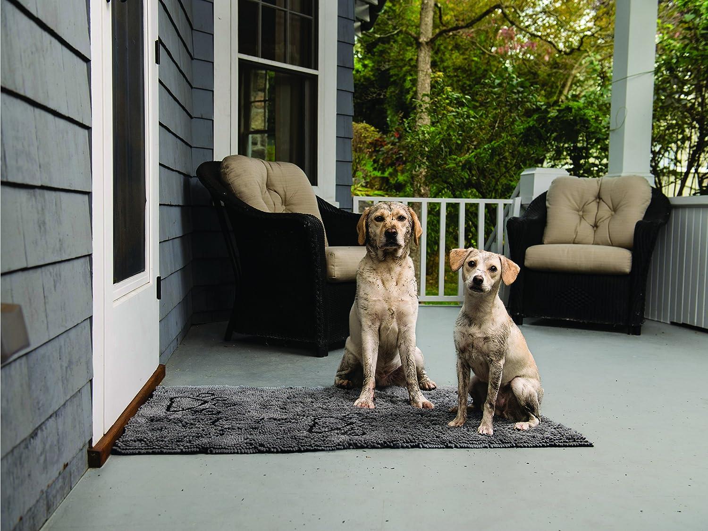 Dog Gone Smart Dirty Dog Doormat Grey Medium Amazon Ca Pet Supplies