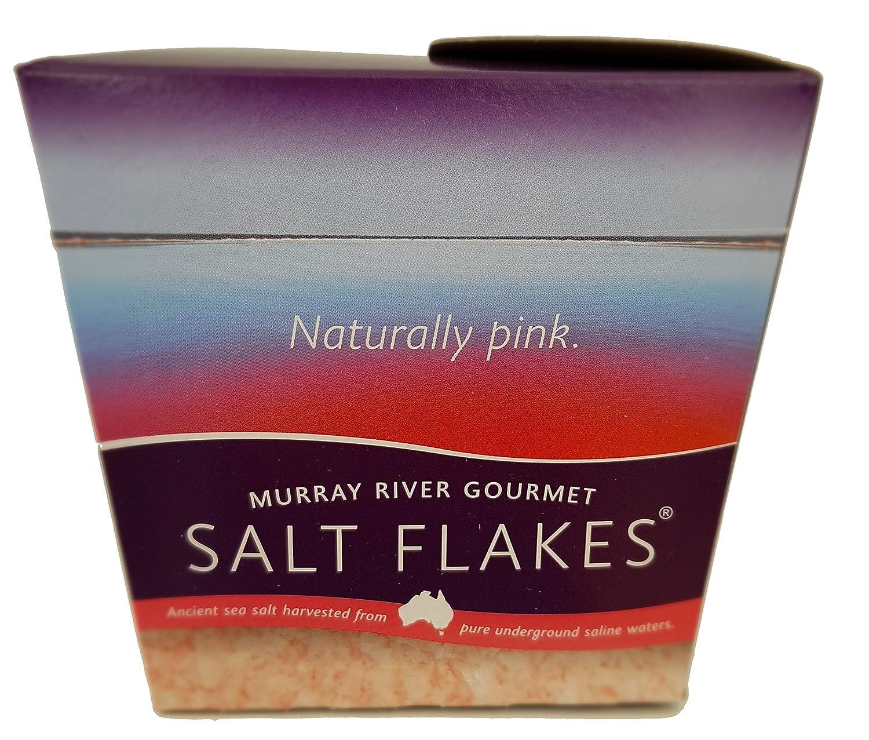 Escamas de sal gourmet del río Murray 8,75 oz - La sal rosa de ...