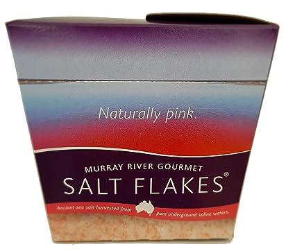 Escamas de sal gourmet del río Murray 8,75 oz - La sal rosa ...