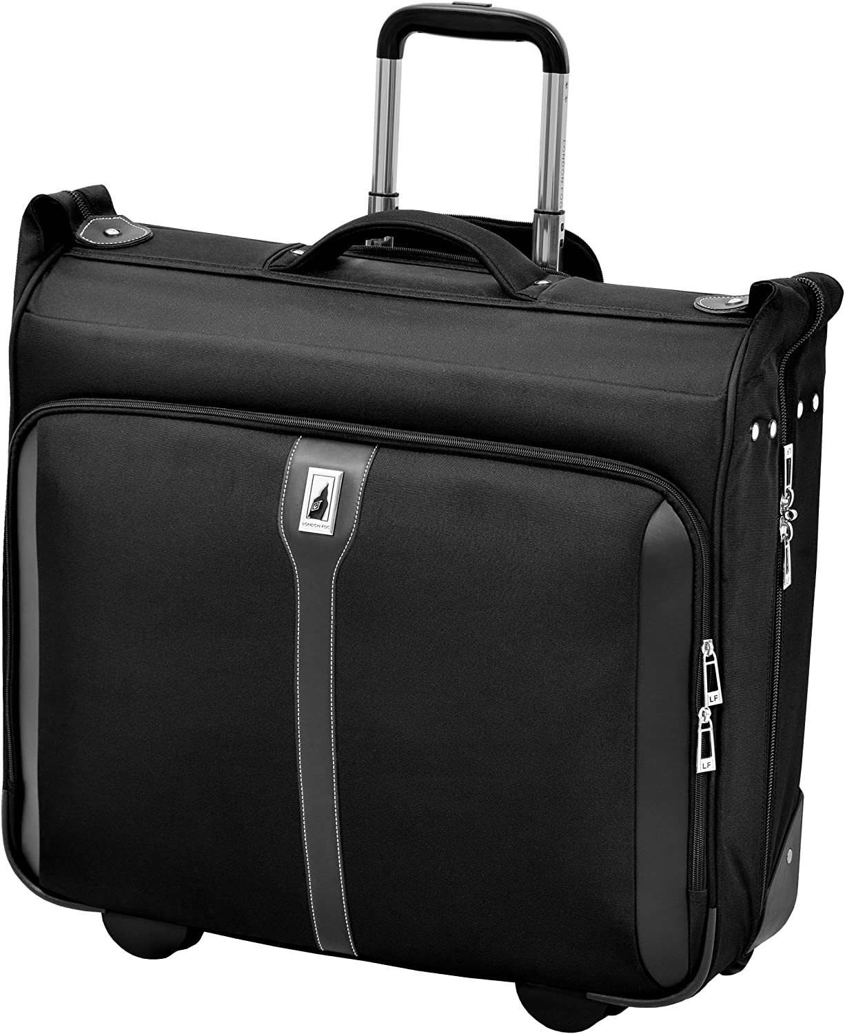 "London Fog Knightsbridge 44"" Wheeled Garment Bag, Black, One Size"