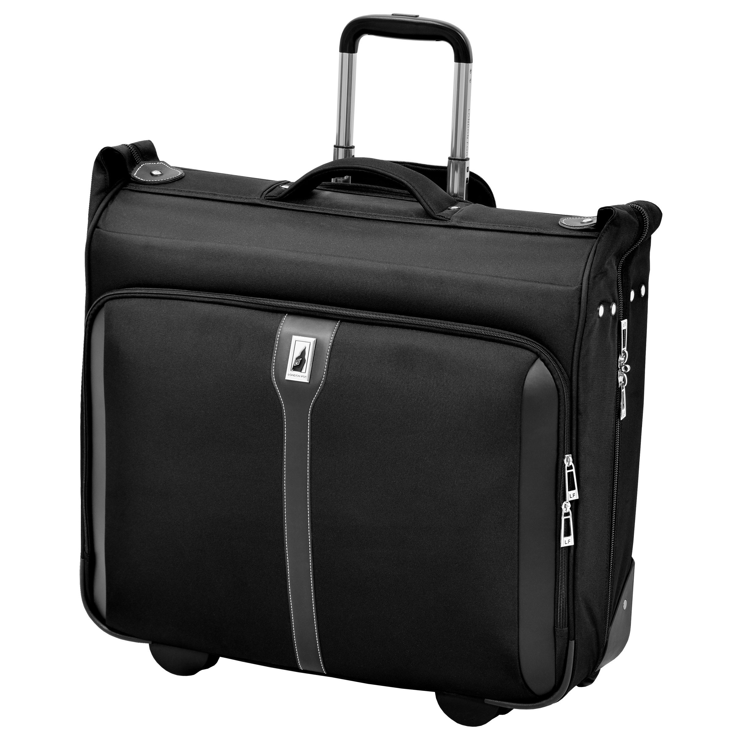 London Fog Knightsbridge 44'' Wheeled Garment Bag, Black by London Fog