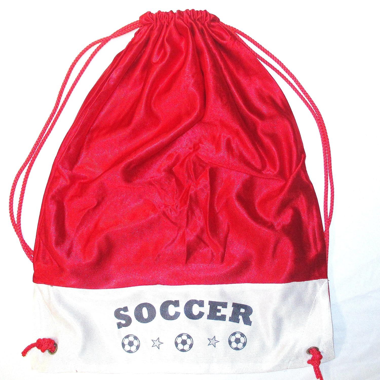Soccerトートバッグ – 多くの色 B001UB2TX4 レッド レッド