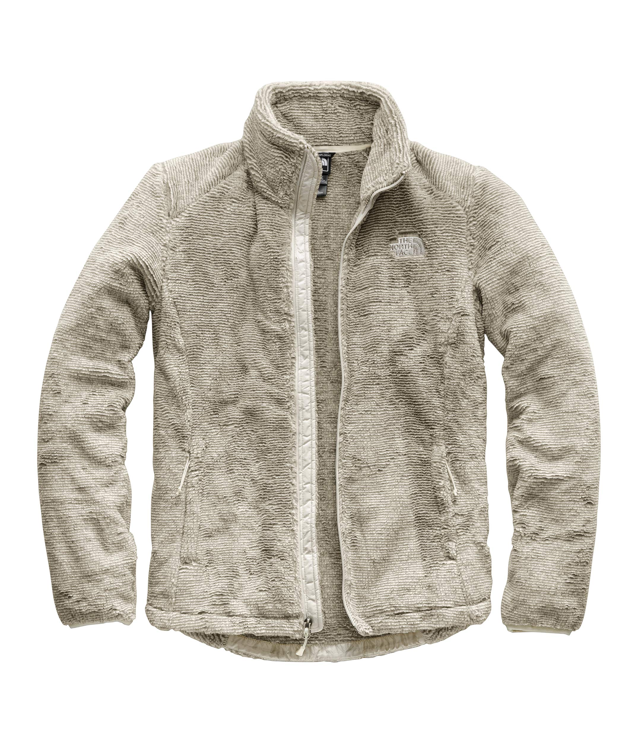 The North Face Women's Osito 2 Jacket Silt Grey/Vintage White Stripe Small by The North Face