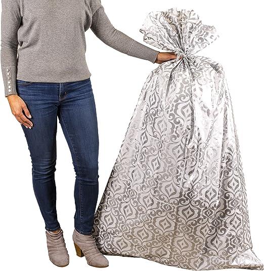 Amazon.com: Hallmark - Bolsa de regalo grande de plástico ...