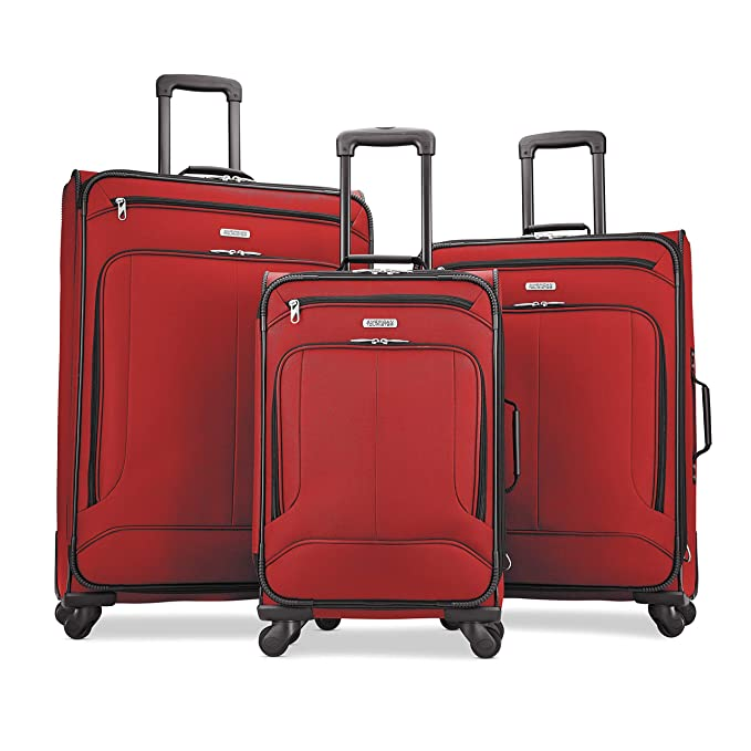 Amazon.com: American Tourister Pop Max Softside Set de ...
