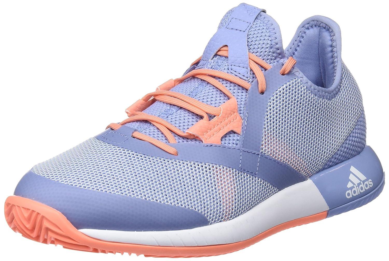 Adidas Adizero Defiant Bounce W, Zapatillas de Deporte para Mujer 36 2/3 EU|Azul (Azutiz / Ftwbla / Cortiz 000)