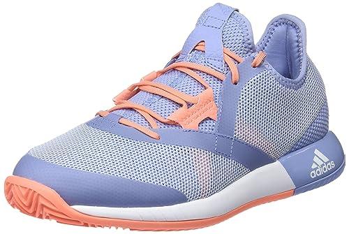 low priced f6053 ec1bb adidas Adizero Defiant Bounce W, Zapatillas de Deporte para Mujer   Amazon.es  Zapatos y complementos
