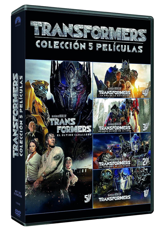 Pack: Transformers 1-5 [DVD]