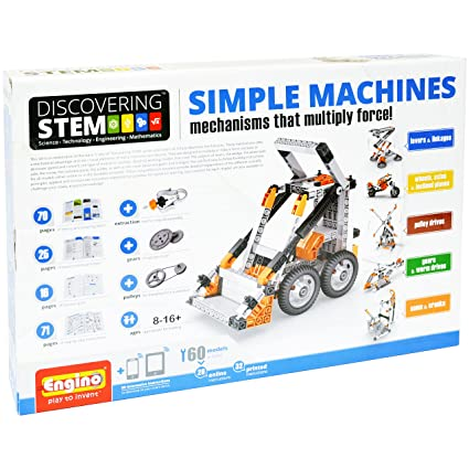 Amazon Com Engino Discovering Stem Simple Machines Mechanisms That