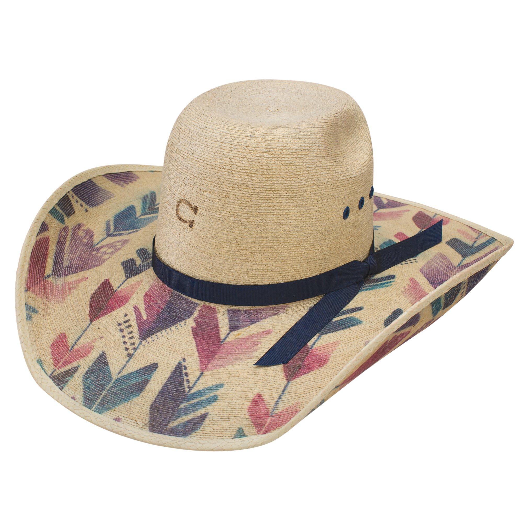 Charlie 1 Horse Hats Womens Straight Arrow 4 1/4 Brim Fashion Hat 73/8