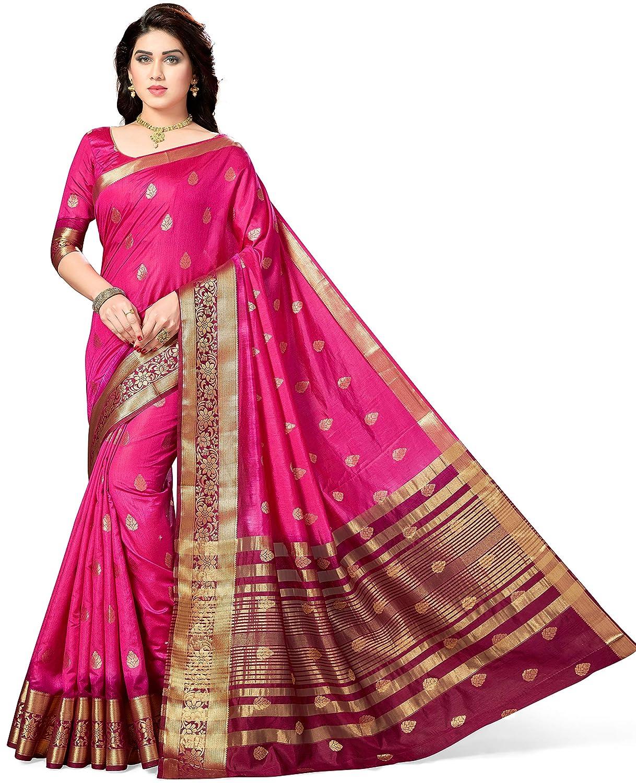 Kanjivaram Style Silk Saree