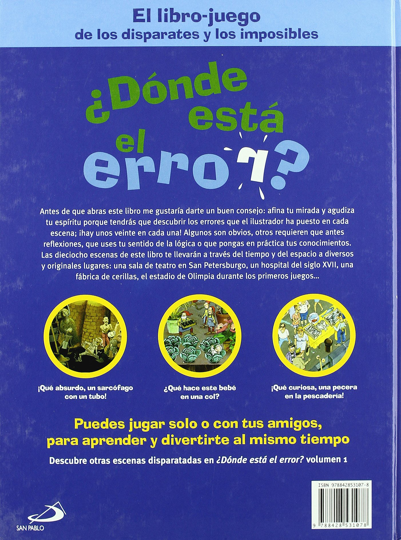 ?Donde esta el error ? Volumen 2: unknown: 9788428531078: Amazon.com: Books