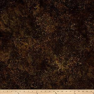 Northcott Stonehenge Gradations Basics Blender Dark Brown Fabric by The Yard