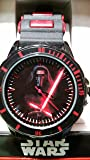 Star Wars Kylo Ren Black and Red Watch