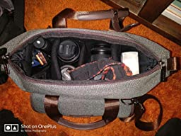 The camera bag that doesn't look like one.