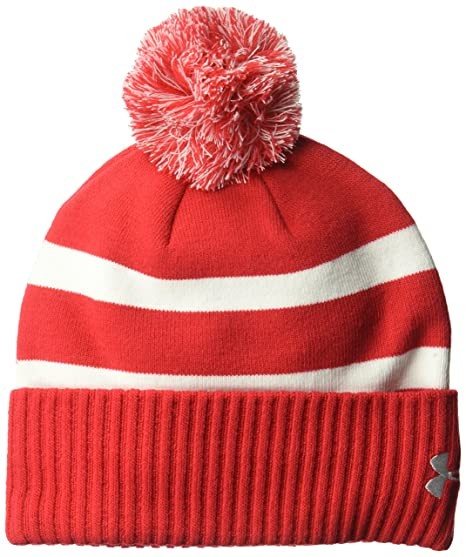 064e6a63eec Amazon.com  Under Armour Mens Pom Beanie  Sports   Outdoors