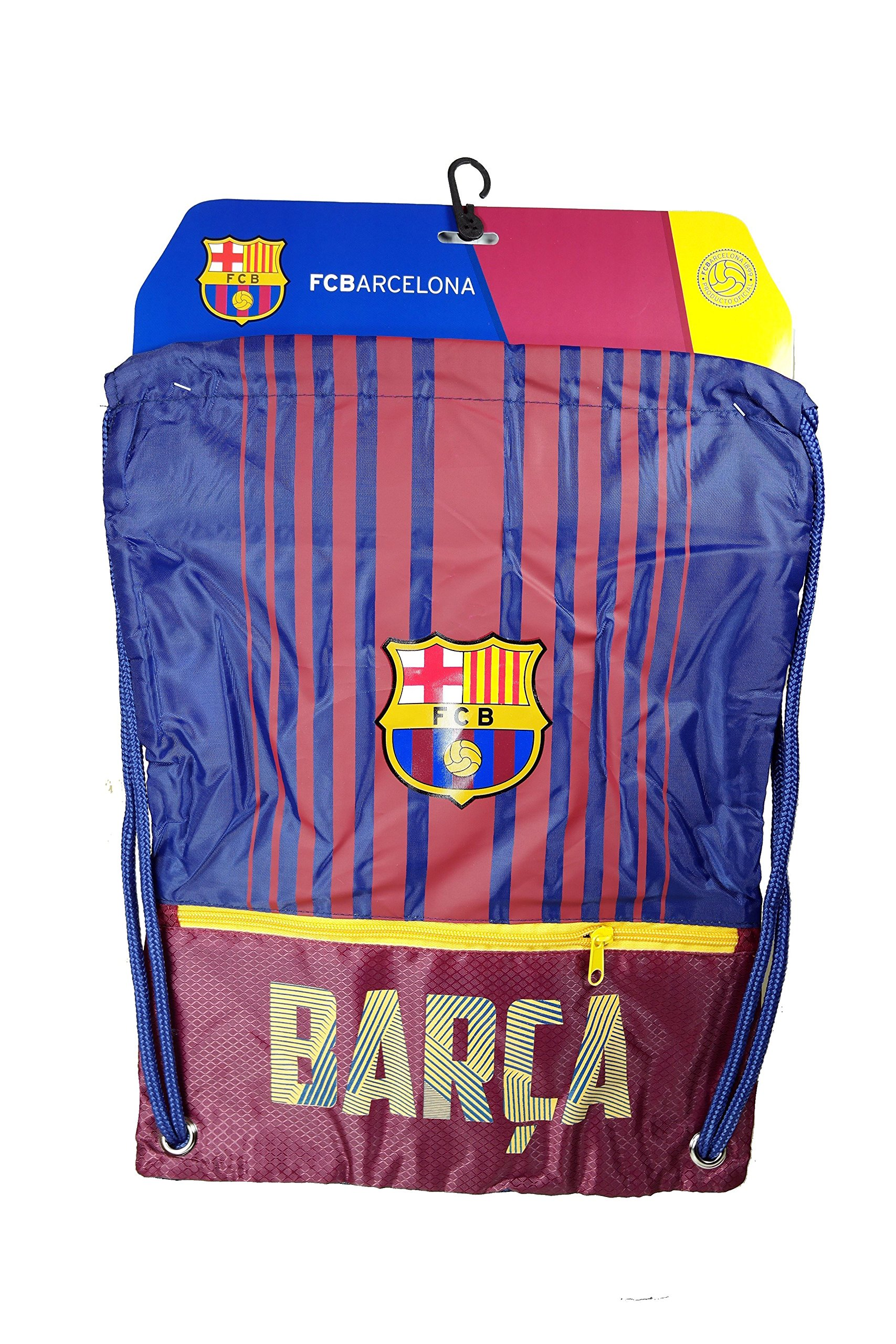Fc Barcelona Authentic Official Licensed Soccer Drawstring Cinch Sack Bag 019