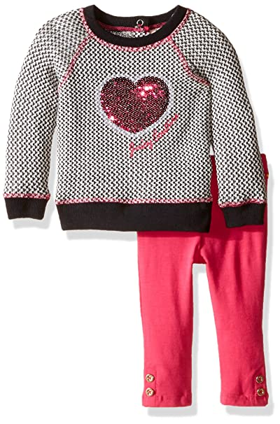 d9db3e9ecb34 Amazon.com  Juicy Couture Baby Girls  Sweater Tunic with Solid Legging Set   Clothing