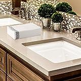 Superior Quality Decorative Linen-Feel Hand Towels