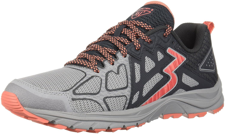 361 Women's 361-Overstep 2 Trail Running Shoe B075V64VBL 11 B(M) US|Sleet/Ebony
