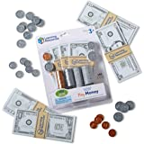 Learning Resources Pretend and Play, Play Money for Kids, Counting, Math, Currency, 150 Pieces, Easter Gifts for Kids, Ages 3