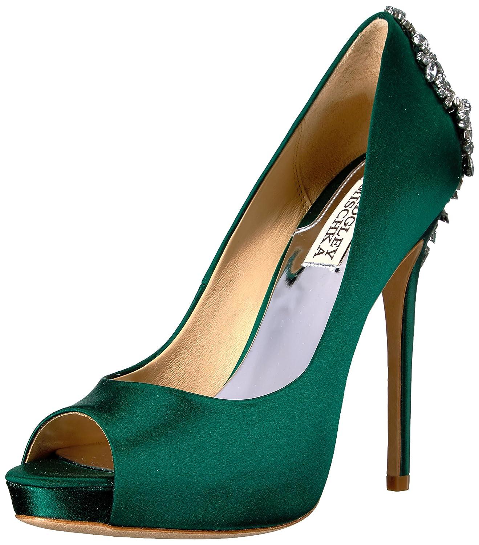 Badgley Mischka Women's Kiara Dress Pump B01MXTLL1F 5 B(M) US Emerald
