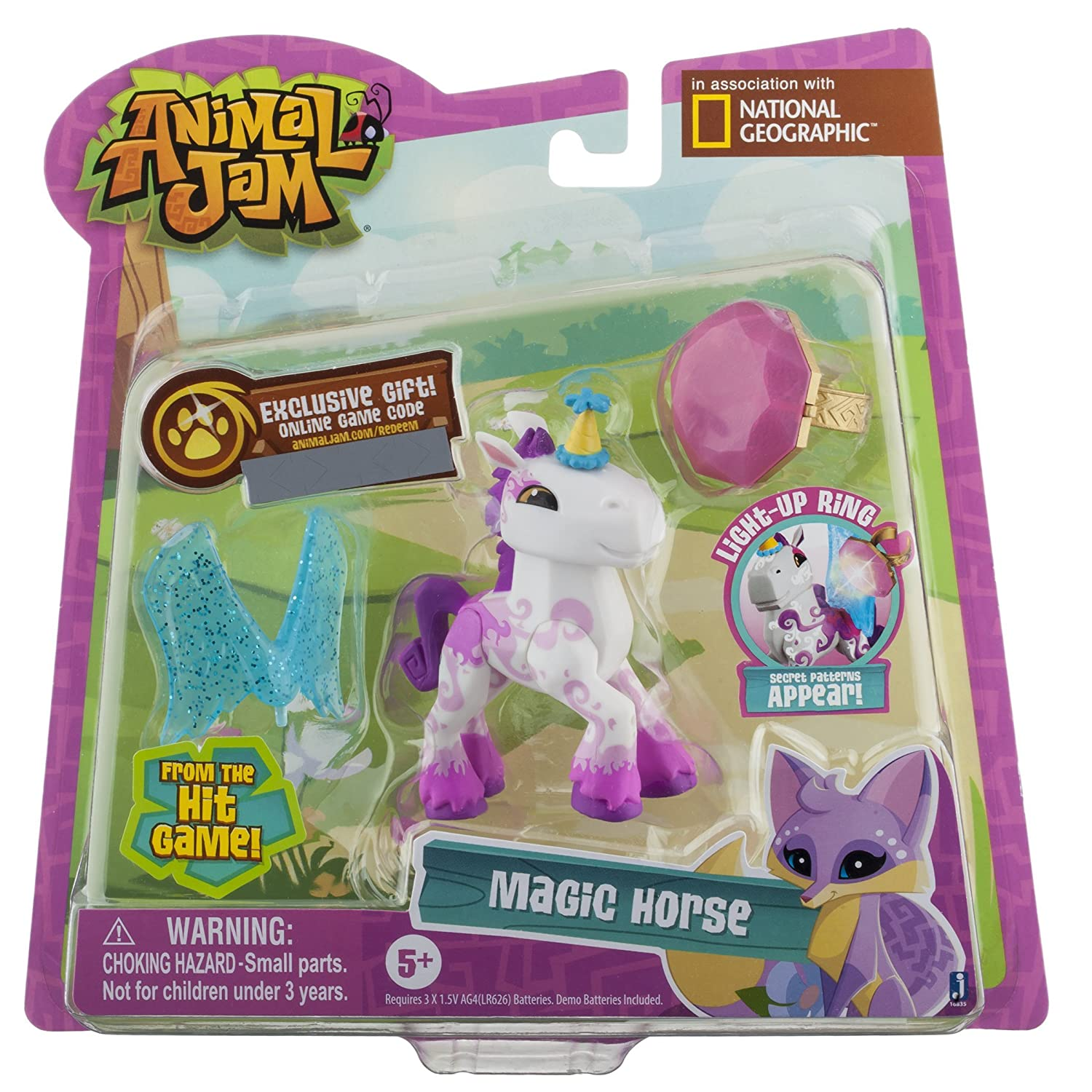 Amazon Animal Jam Best Dressed Magic Horse Action Figure Toys Games
