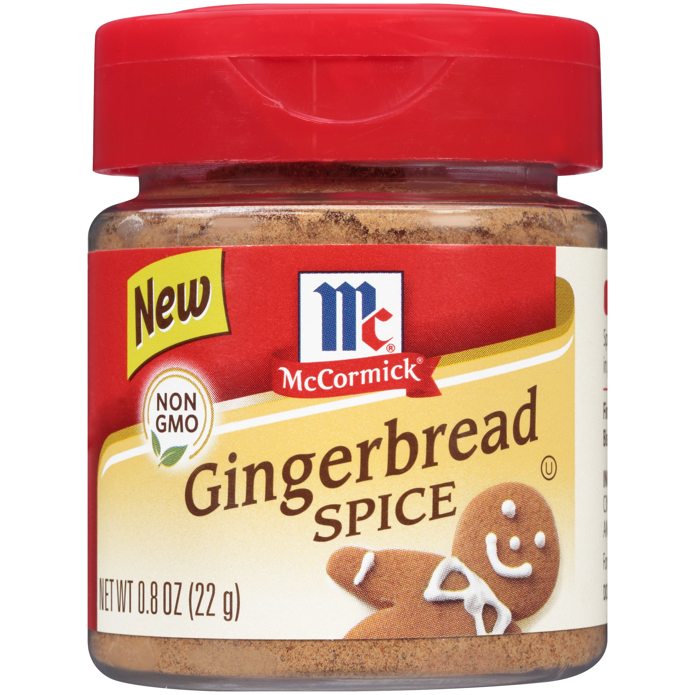 McCormick Gingerbread Spice, 0.8 oz (Pack of 72)