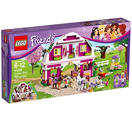 Amazoncom Lego Friends 41039 Sunshine Ranch Discontinued By