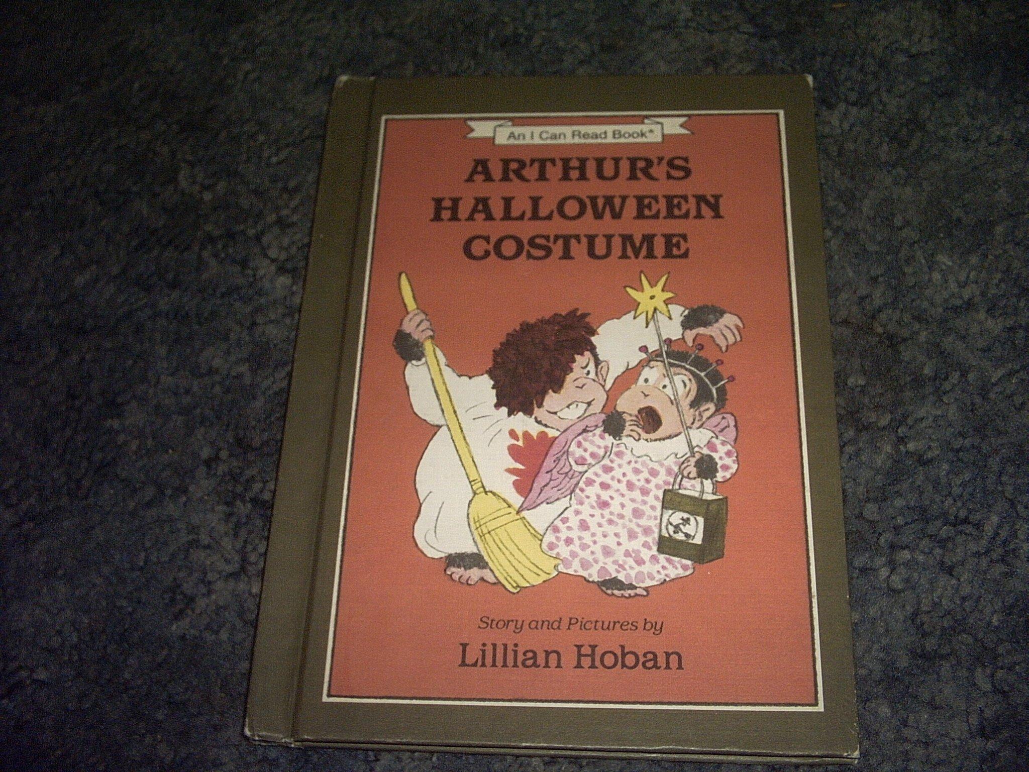 arthurs halloween costume book an i can read book lillian hoban amazoncom books