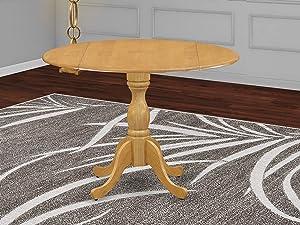 East West Furniture DMT-Oak-TP Dining Table, 42