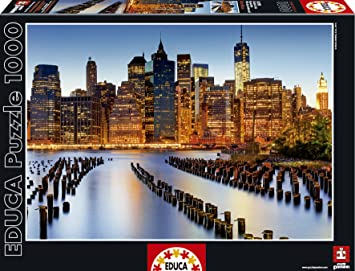 puzzles educa puzzle ciudad de los rascacielos piezas
