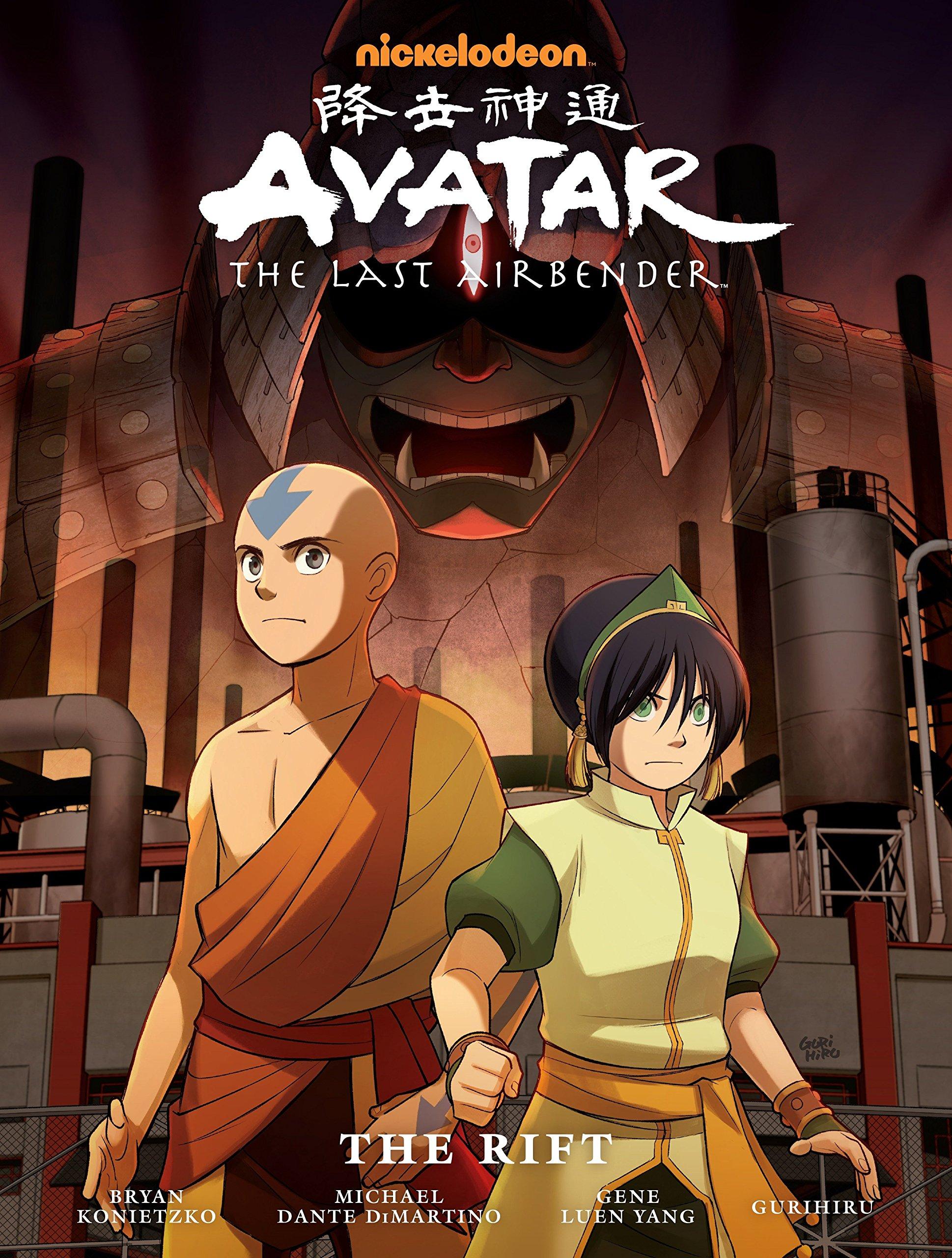 Avatar: The Last Airbender - The Rift Hardcover – February 24, 2015 Gene Luen Yang Michael Dante DiMartino Bryan Konietzko Gurihiru