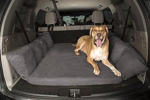 Big Barker Backseat Barker SUV Edition Orthopedic Shock-Absorbing Dog Bed for Back of Sport Utility Vehicles