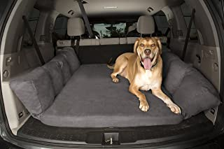 product image for Backseat Barker: SUV Edition (Orthopedic Shock-Absorbing Big Barker Dog Bed for Back of Sport Utility Vehicles)