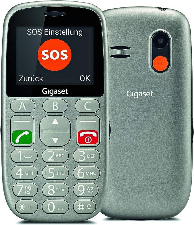 Gigaset GL390 - teléfono móvil para Mayores con Teclas Grandes ...