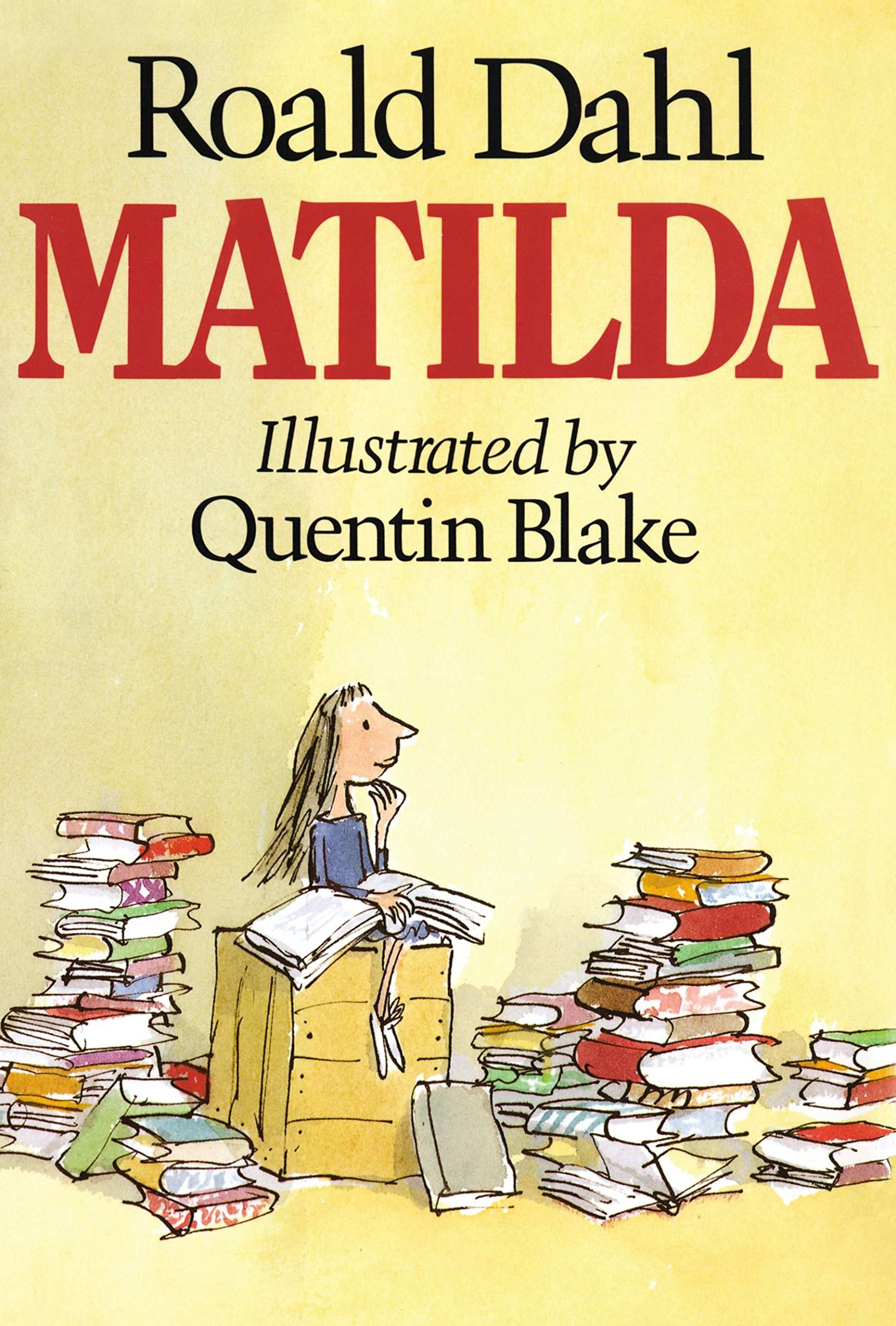 Matilda: Dahl, Roald, Blake, Quentin: 9780670824397: Amazon.com: Books