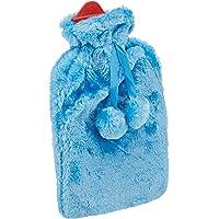 Sıcak Su Torbası Mavi Renkli Ponponlu