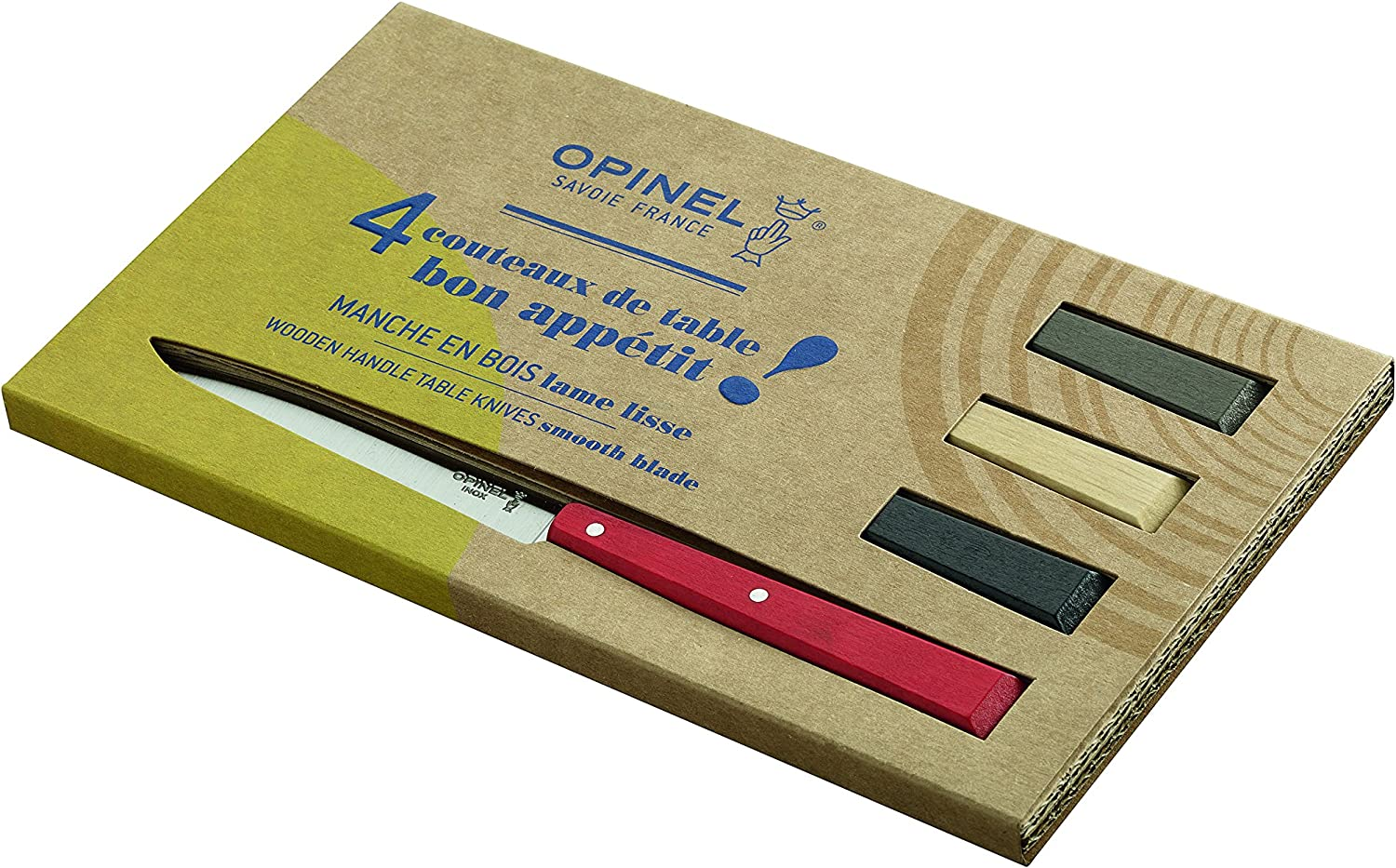 5.Opinel No. 125 Bon Appetit Set For contemporary kitchens